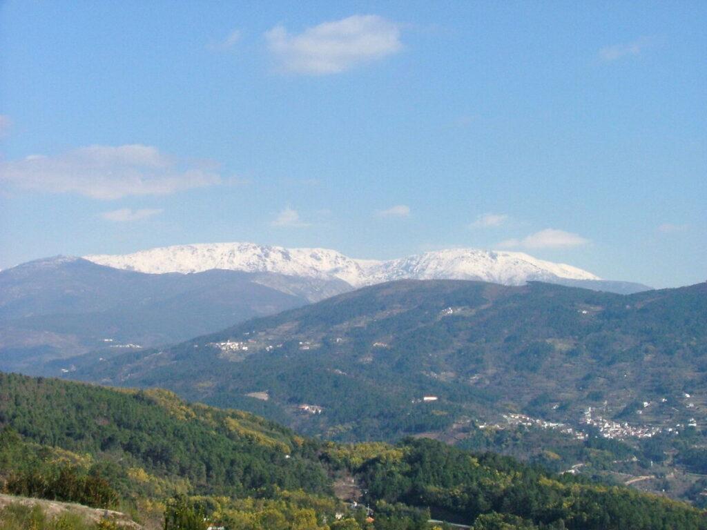 sneeuw op Serra da Estrela