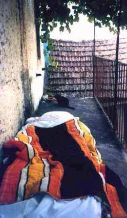 Zijbalkon annex slaapkamer