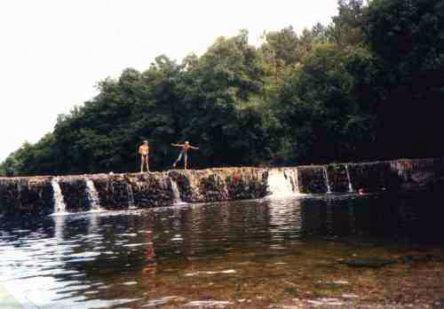 rio Alva bij Côja