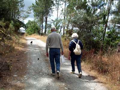 Ook voor ouderen volop wandelplezier in de Serra do Açor.