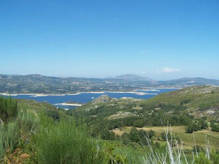 Het landschap in Noord-Portugal