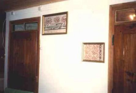 Ingelijste muurschilderingen