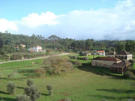 Het gehucht Arroteia de Baixo