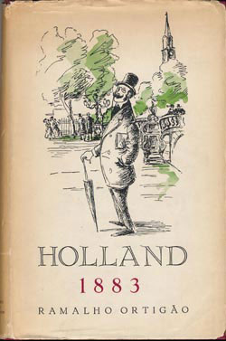 Boekomslag Holland 1883 van Ramalho Ortigão