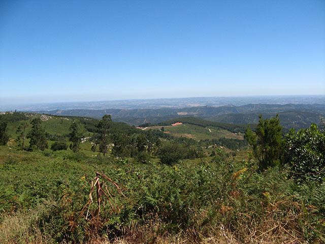 Uitzicht berglandschap