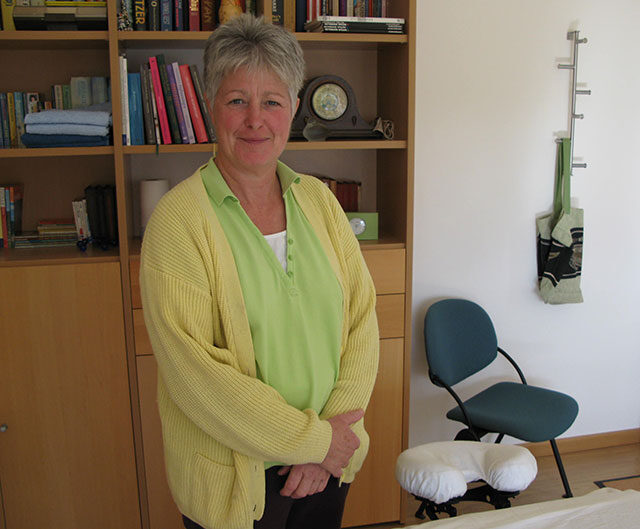 Lydy Verwayen, fysiotherapeute en masseuse