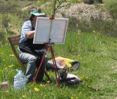 schilderen-op-een-berg