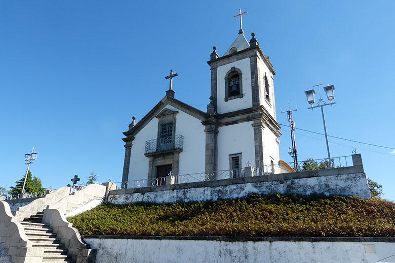 wandeling Maladão de kerk op Mont'Alto