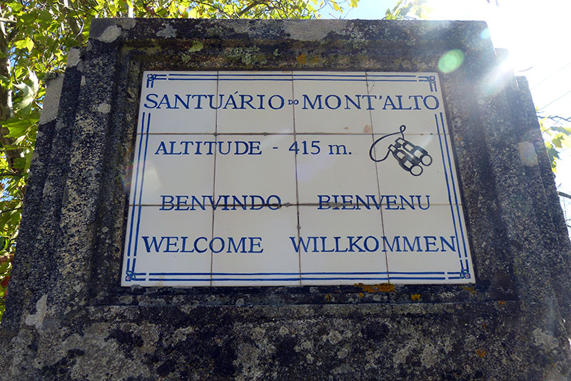 wandeling Maladão tegeltableau Mont'Alto
