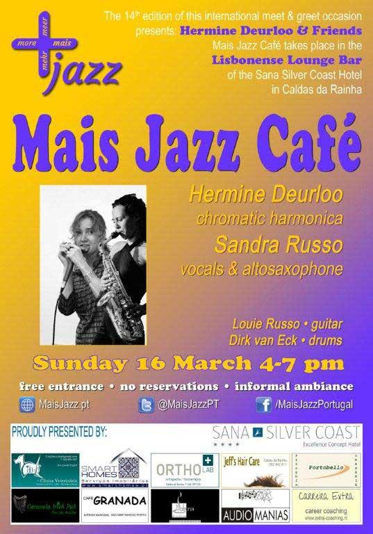 Mais Jazz Café flyer