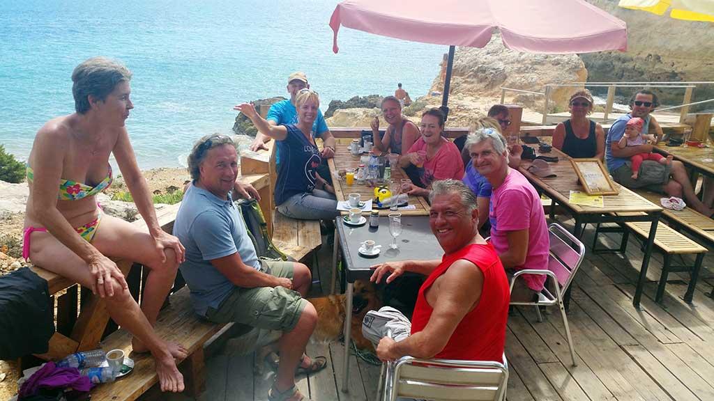 uitrusten in de Algarve