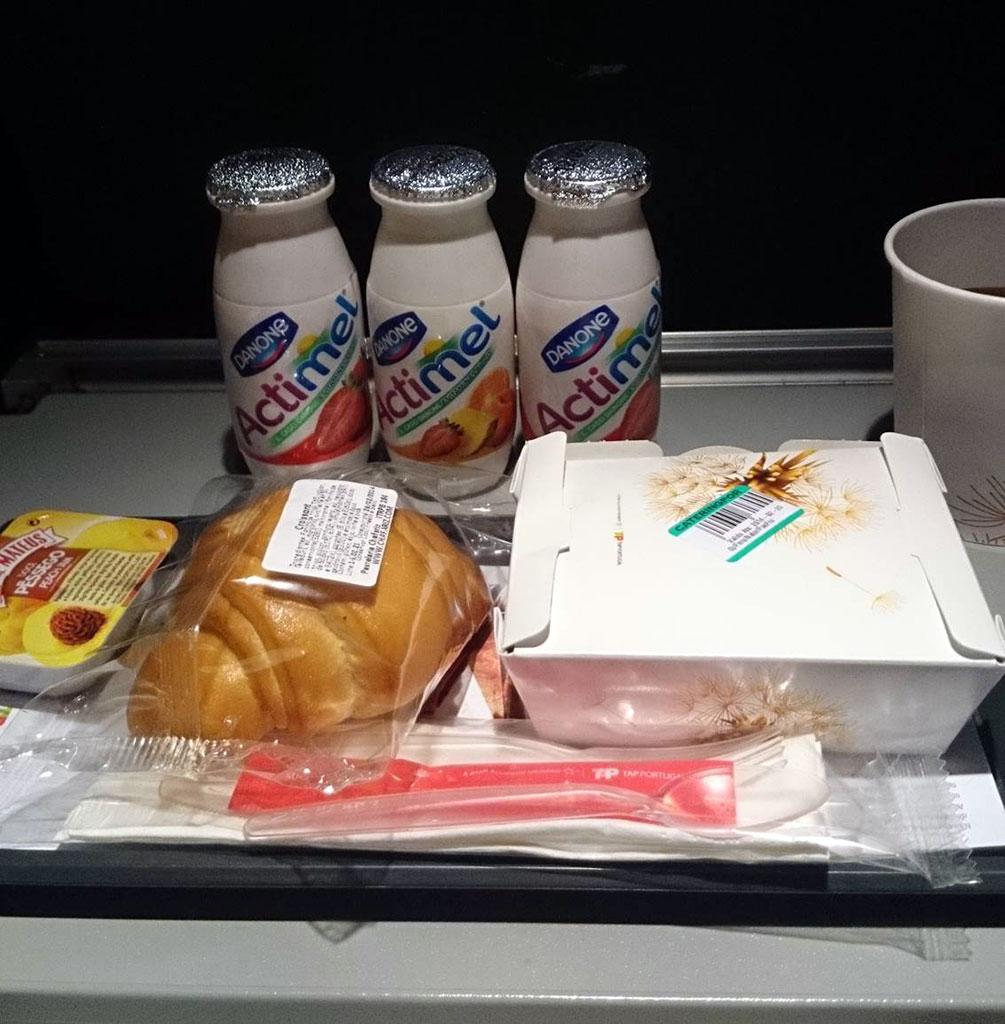 Ontbijt economy class