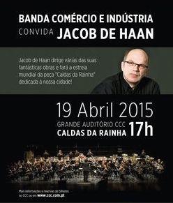 Jacob de Haan in Caldas da Rainha Portugal