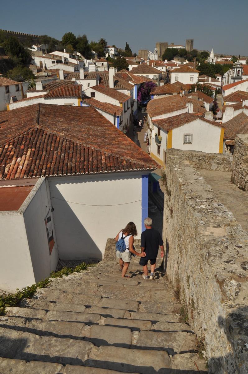 Óbidos vestingmuur