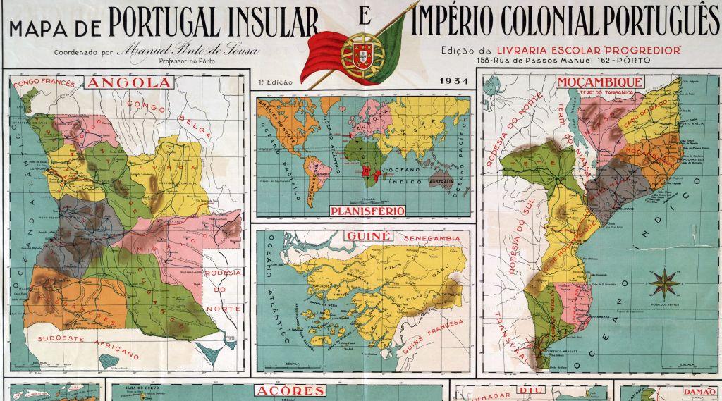 koloniale kaart