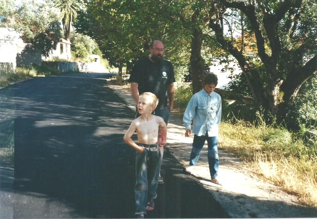 Vader en de jongens in 2003