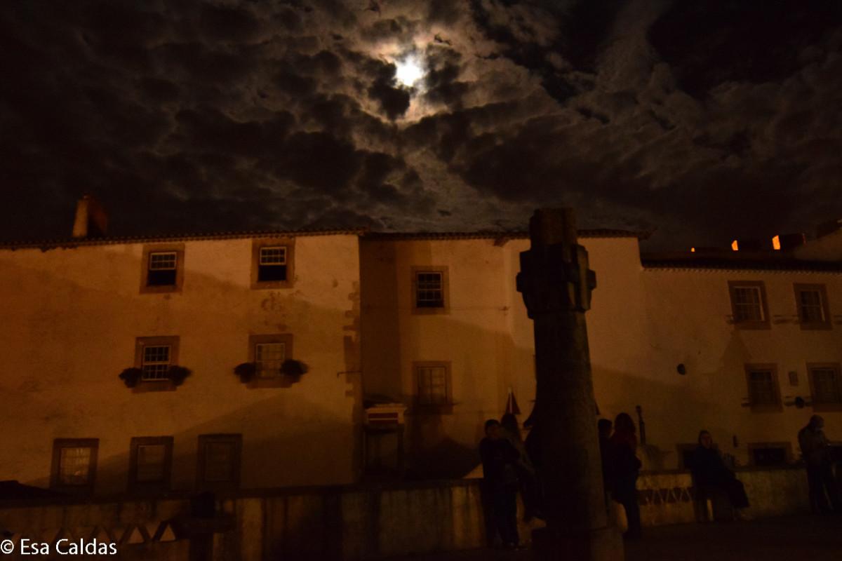 Volle maan in Óbidos