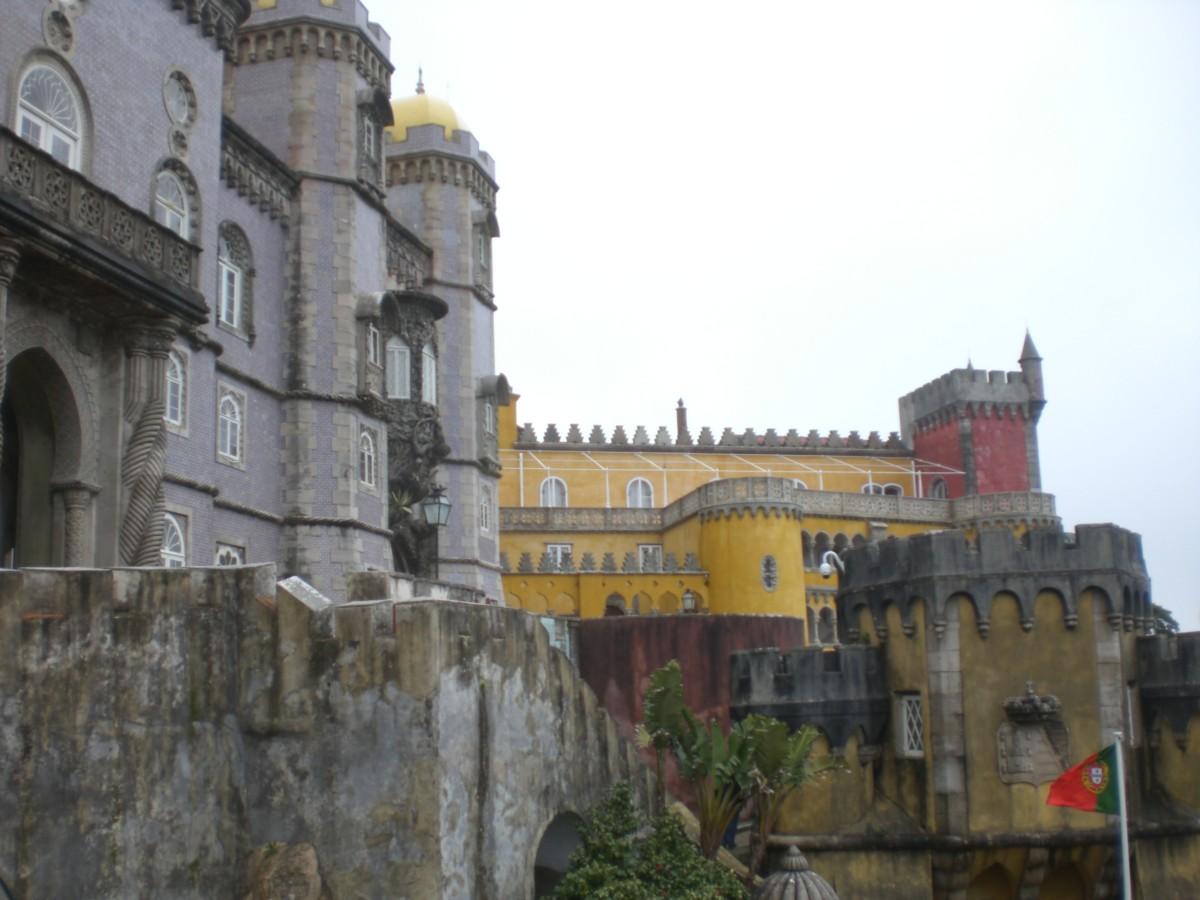 Het Palácio da Pena in Sintra
