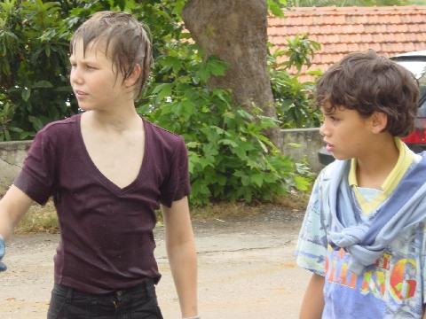 twee jongetjes