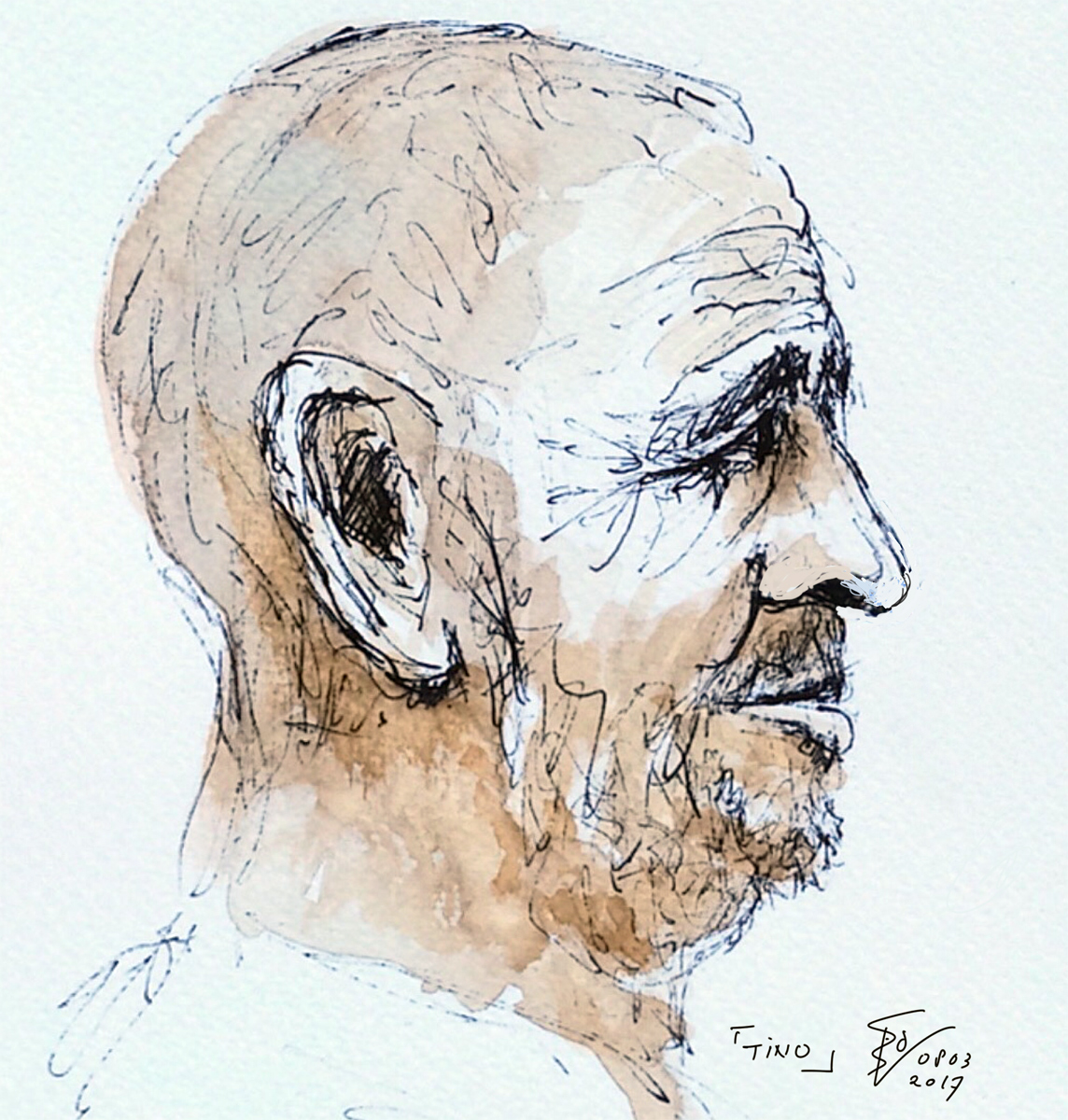 portret Tino