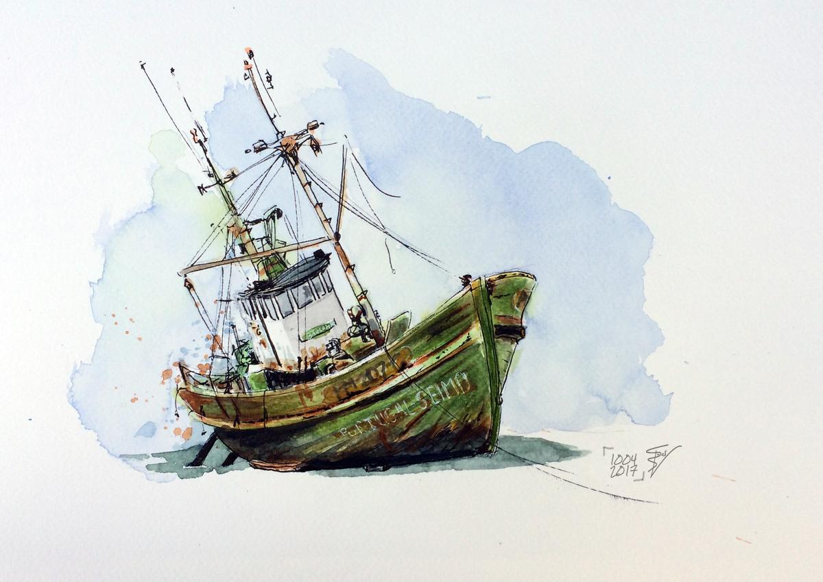 Barlamar (met pensioen), illustratie Rienk Vlieger