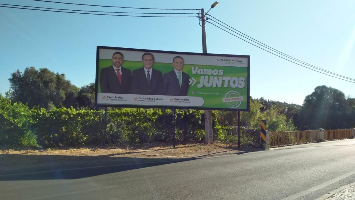 Verkiezingen Burgemeester 2017 Paderne Albufeira