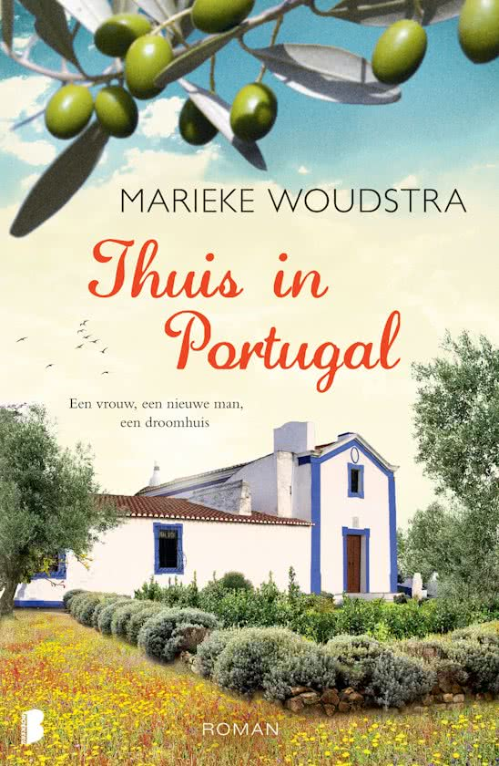 Marieke Woudstra - Thuis in Portugal, cover