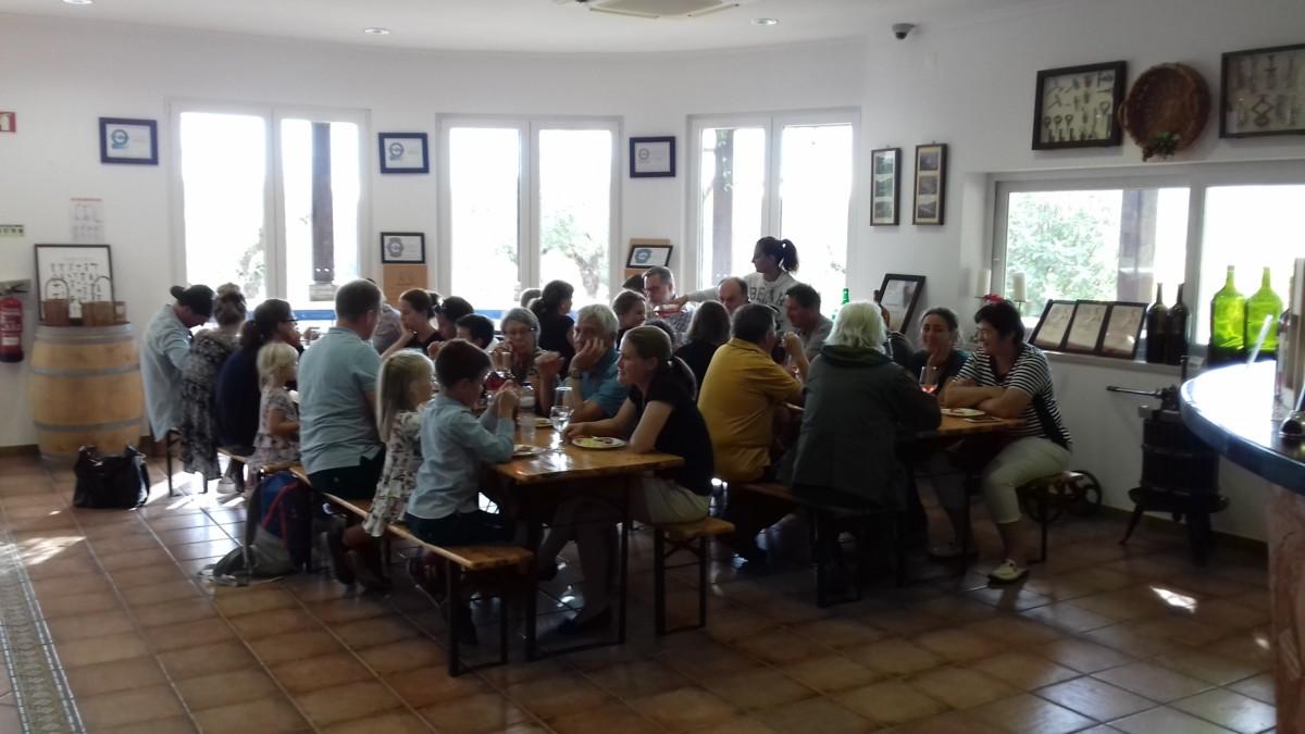 Wijnproeverij Silves Algarve Odelouca