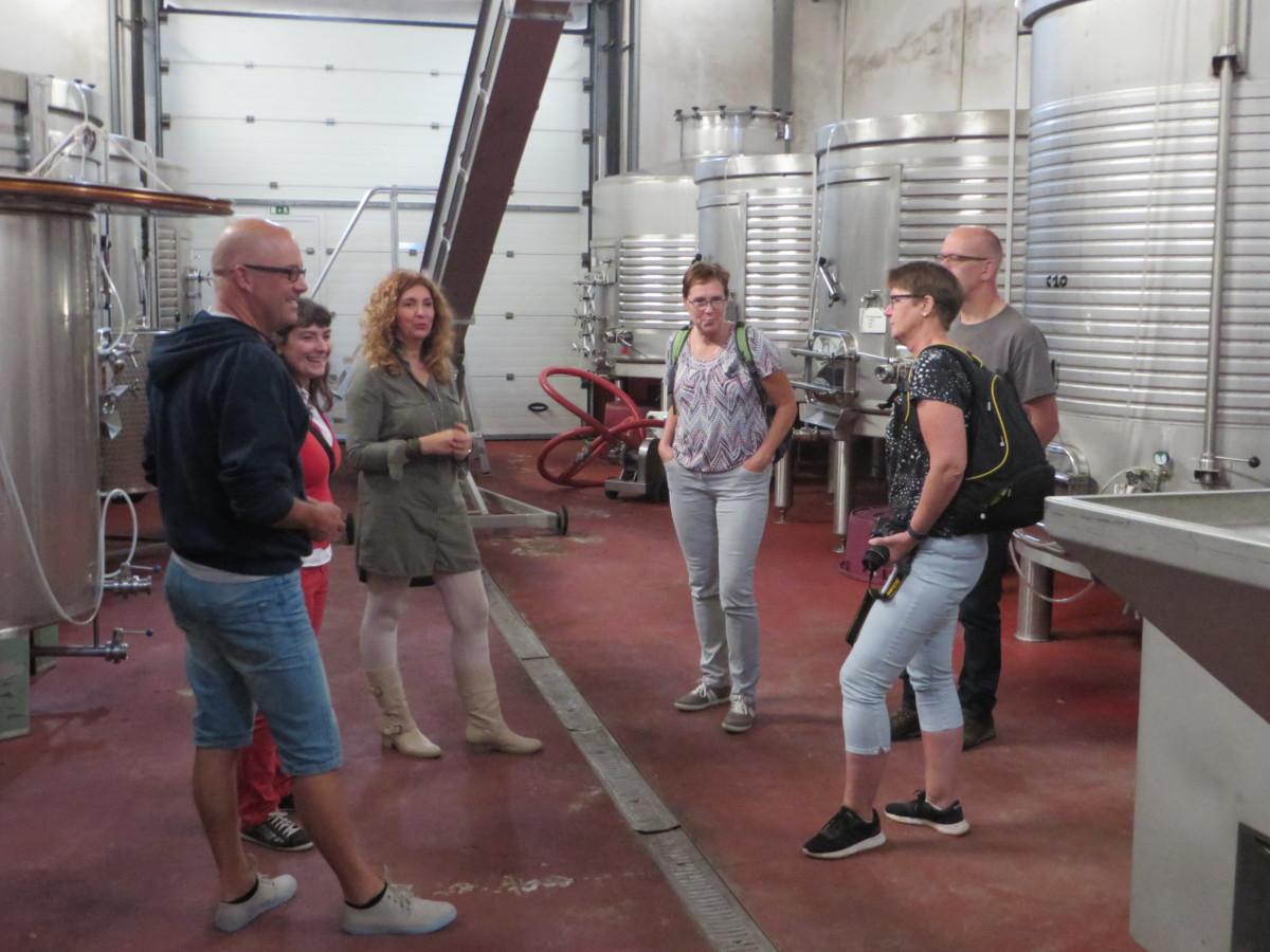 RVS vaten / tanks wijnproduktie Algarve Silves