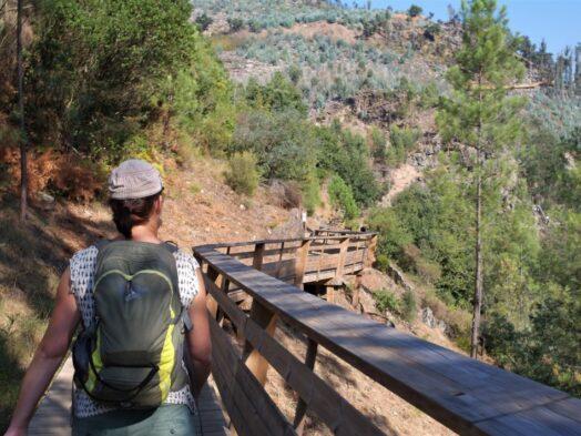 wandeling Passadiços do Paiva vlonders
