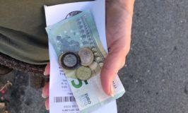 Handvol wisselgeld