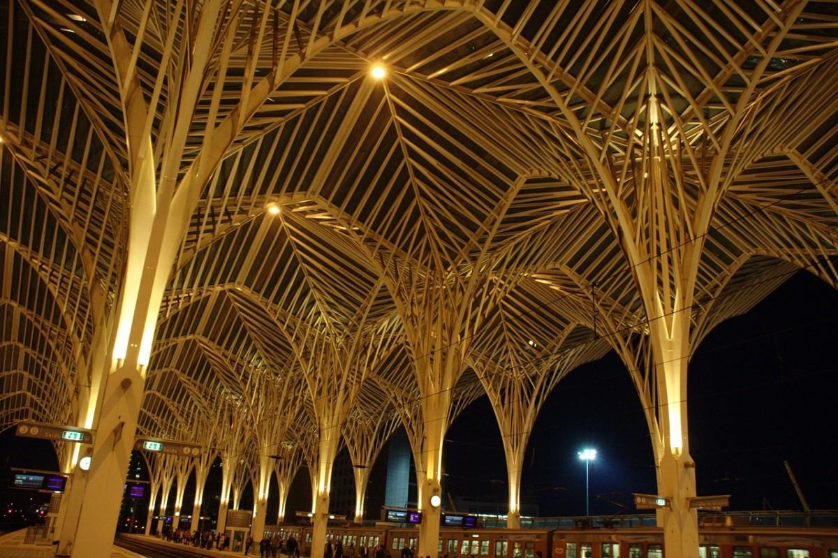 Station Oriente in Lissabon