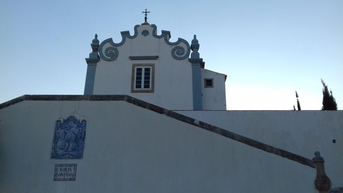 Igreja Sant' Ana Albufeira. De Sant' Ana (ook wel eens Santana) kerk in Albufeira