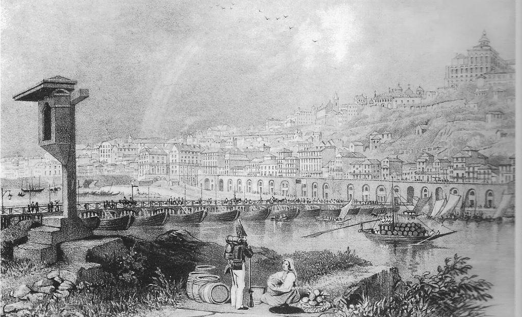 Ponte das Barcas (tekening)
