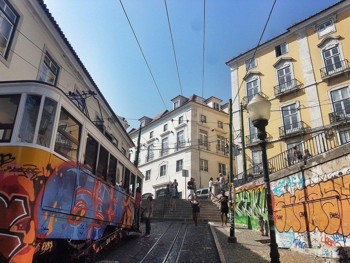 Lissabon tram LX factory