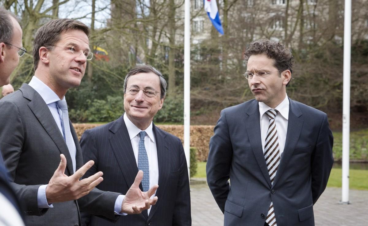 Rutte, Draghi en Dijsselbloem