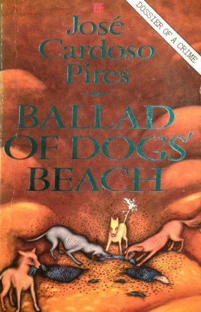 book cover Ballad of Dogs' Beach
