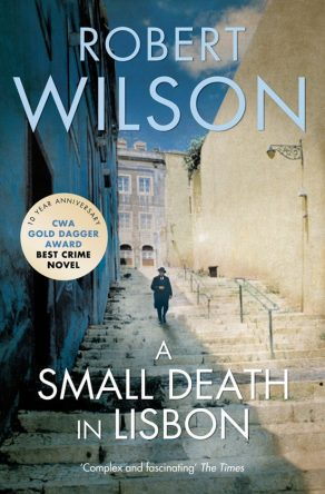 cover van a small death in lisbon