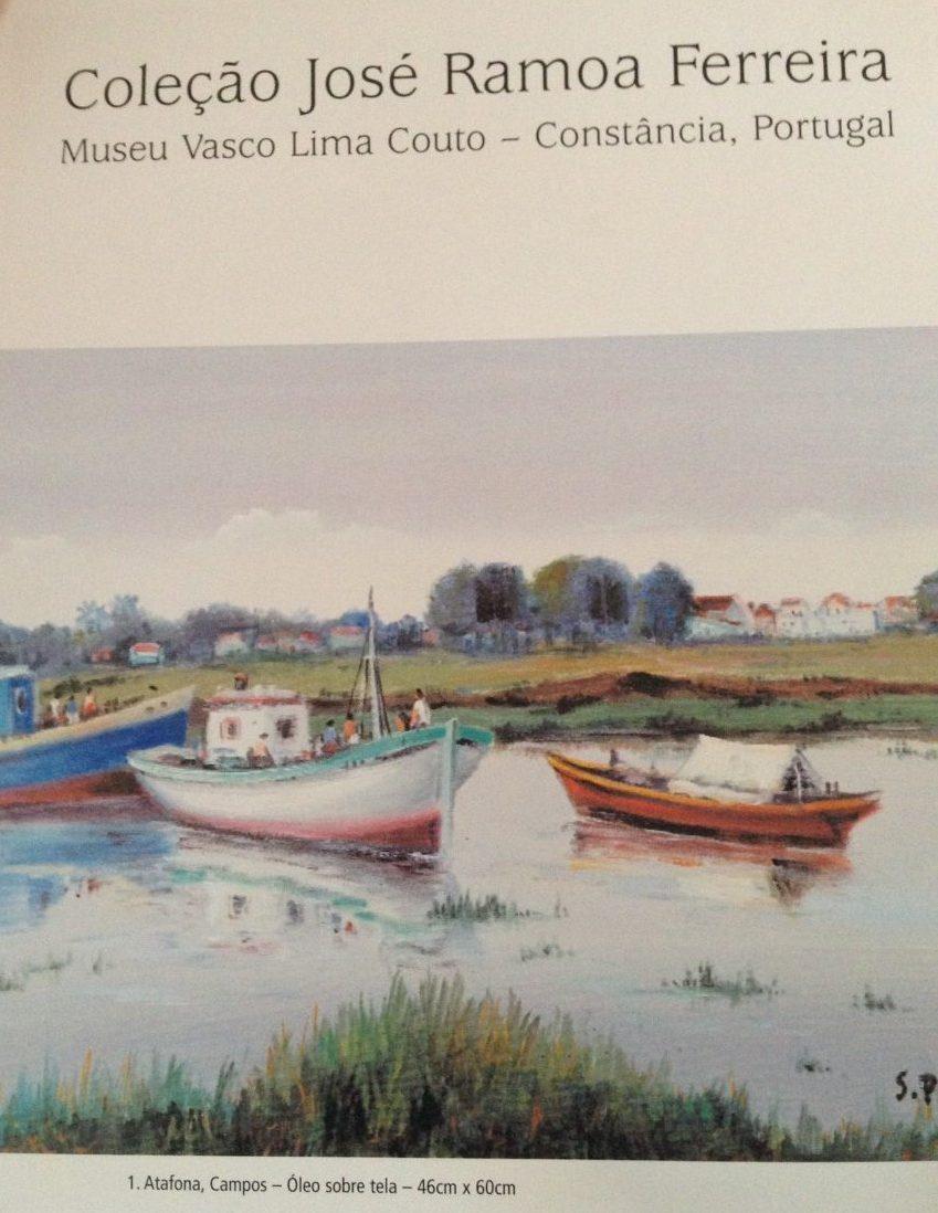Afbeelding van een rivier met boten.