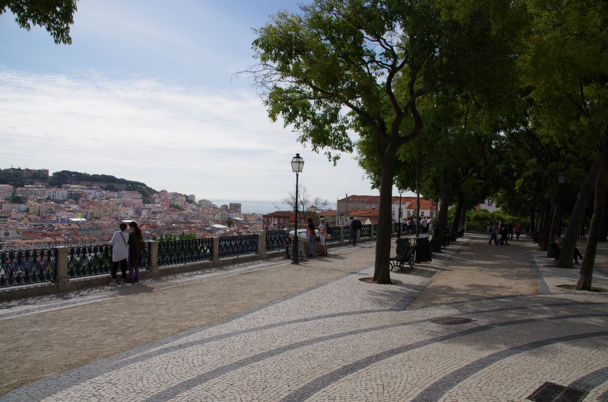 De Miradouro de São Pedro