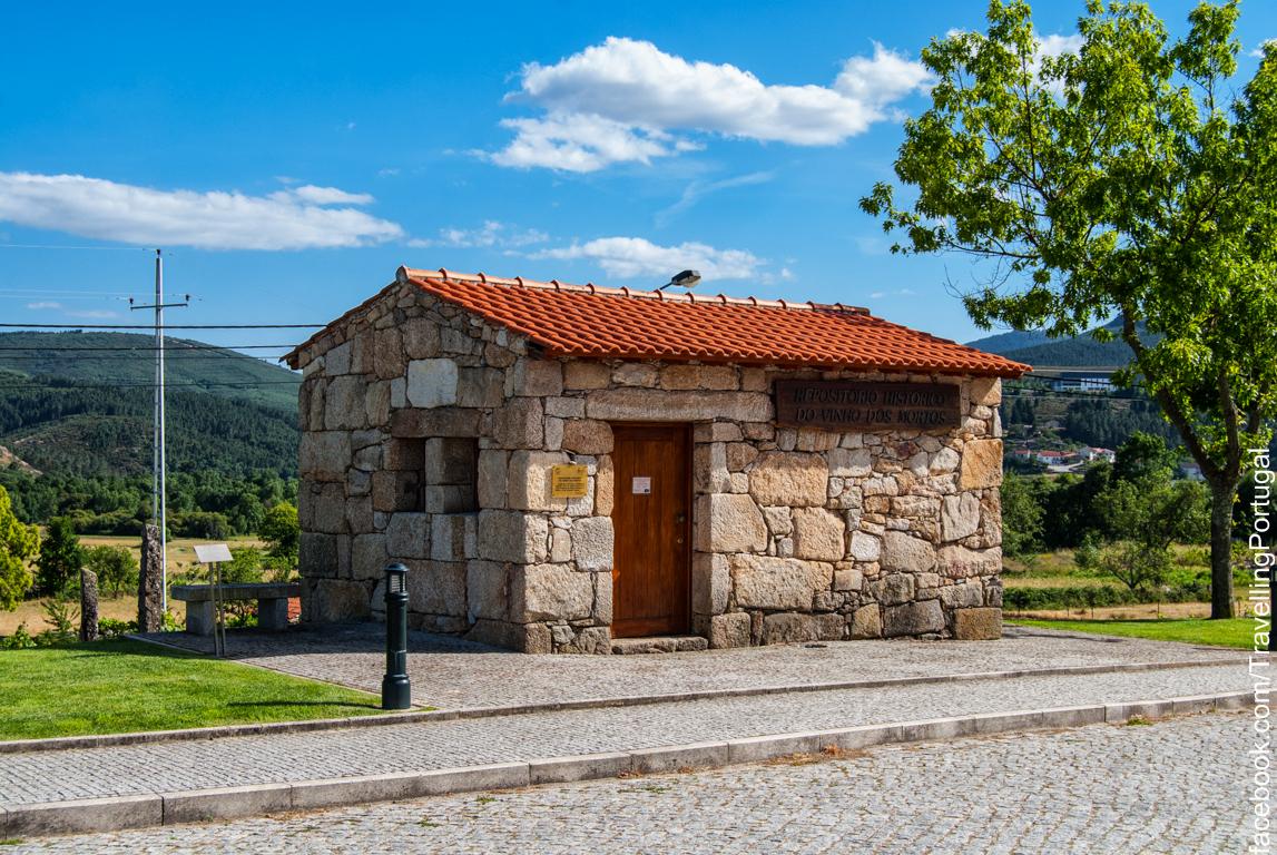 Het wijn museum in Boticas