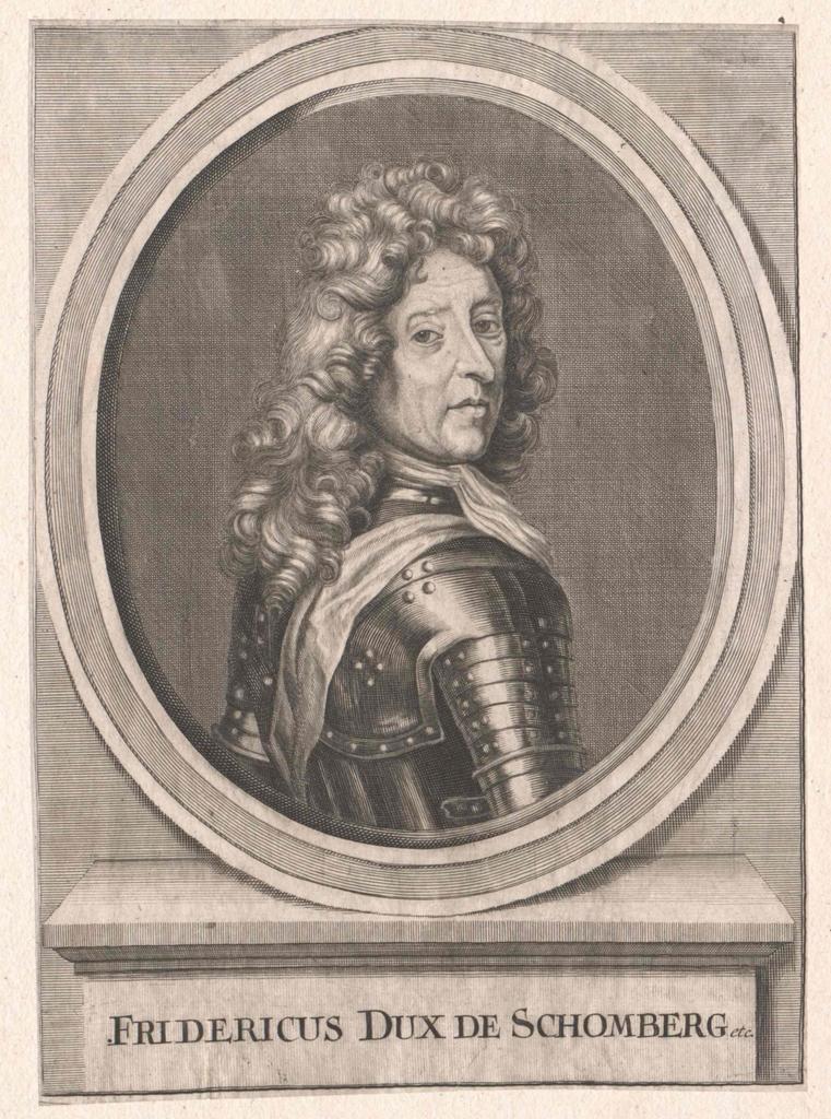 Portret van Schomberg