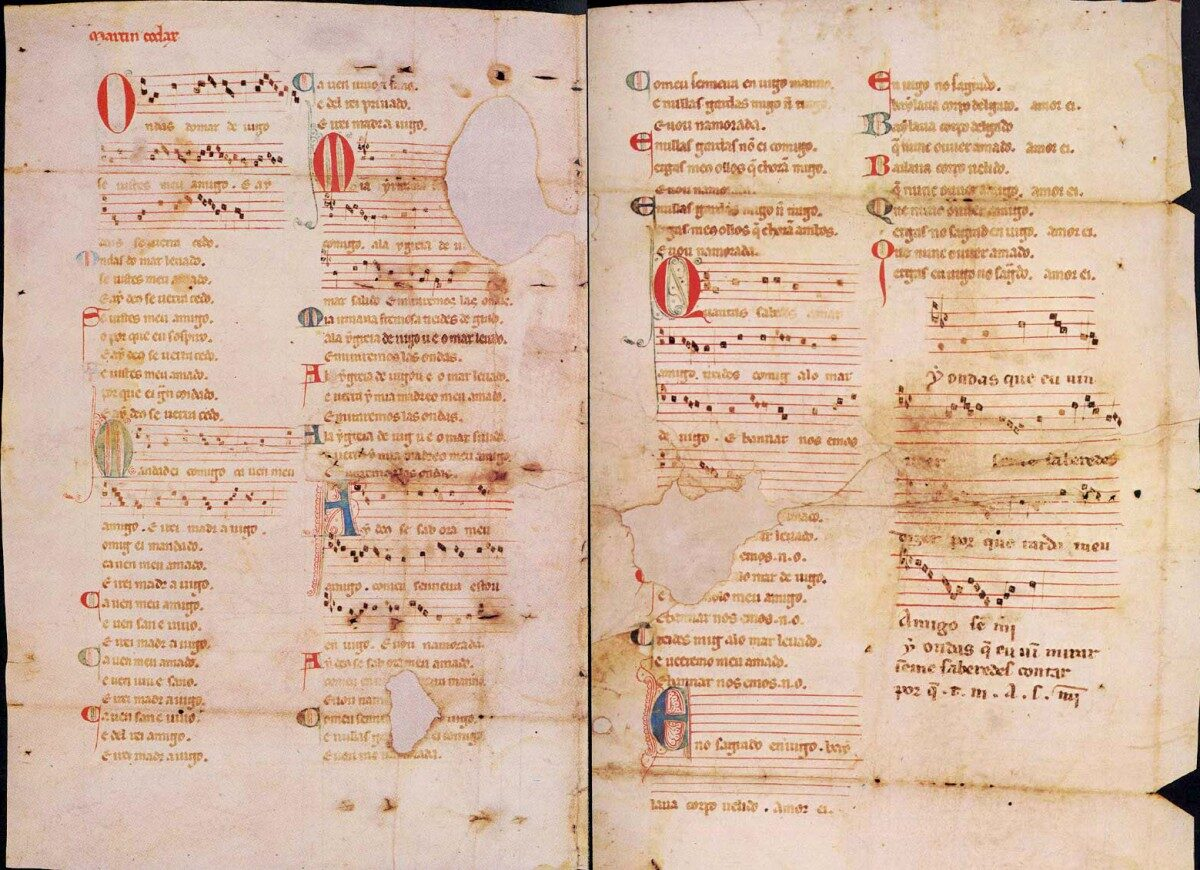 Cantiga de amigos, https://commons.wikimedia.org/w/index.php?curid=368265