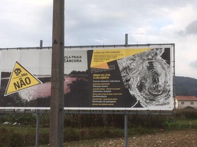 NÃO! - Nee tegen lithium exploratie en exploitatie