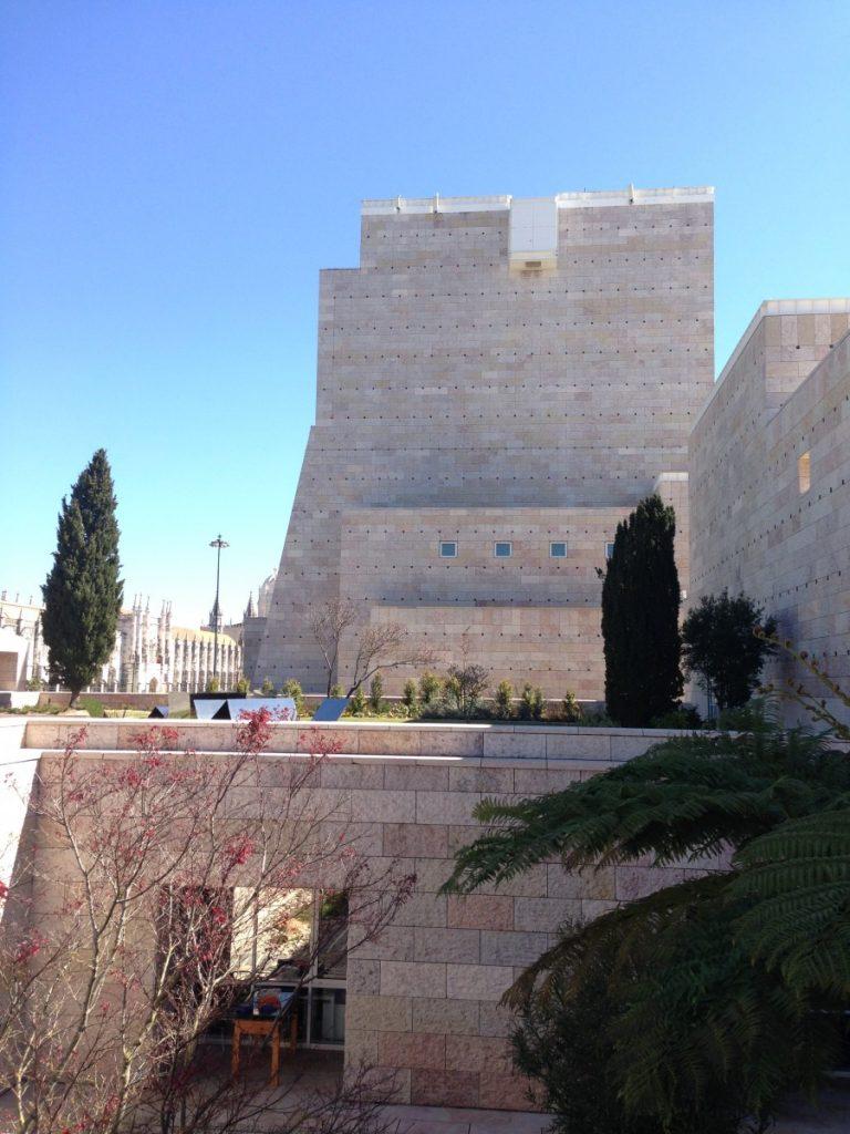Centro Cultural de Belém van opzij