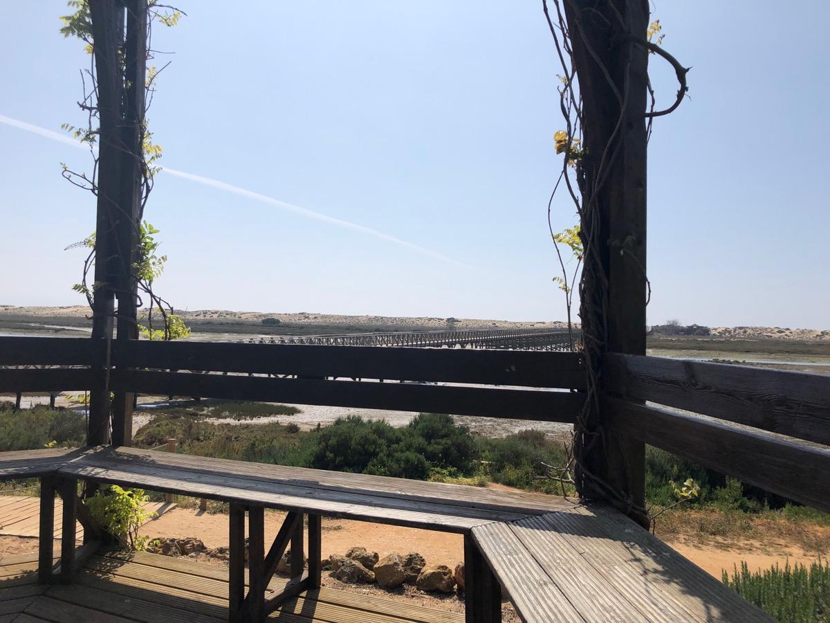 Uitkijkpunt over Ria Formosa