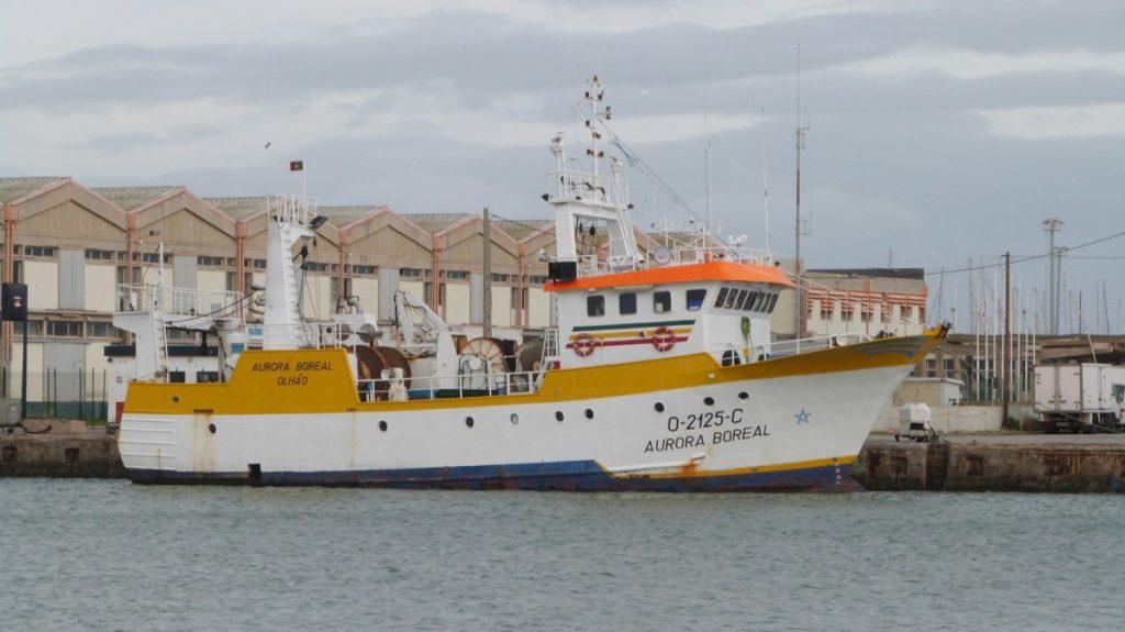 Portugese trawler Aurora Boreal