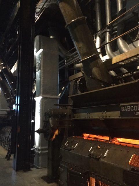 Interieur oude krachtcentrale EDP