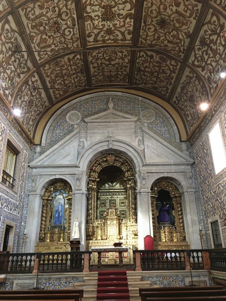 Interieur van de Igreja da Misericórdia