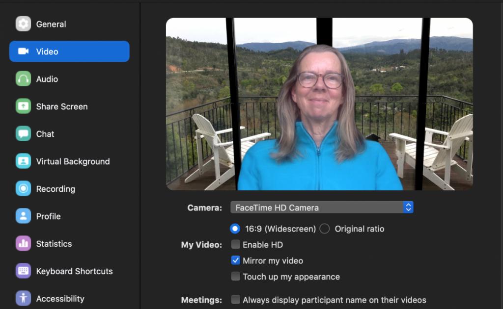 schermafbeelding van Zoom